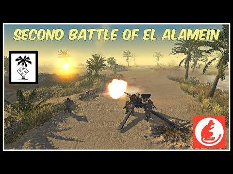 [HD] - [ Phase three ] Second Battle of El Alamein - Tobruk | Men of War Assault Squad 2 Cinematic