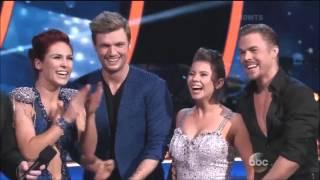 Dancing With The Stars Season 21 Week 10 Nick & Sharna, Bindi & Derek 'Samba' Dance-Off (Semi-Final)