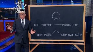 This Diagram Shows Nunes' Conflict Of Interests In Investigating Trump by : The Late Show with Stephen Colbert