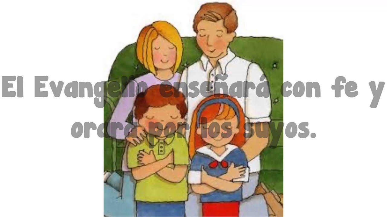 La familia es de Dios SUD con letra Cancin para los nios de la