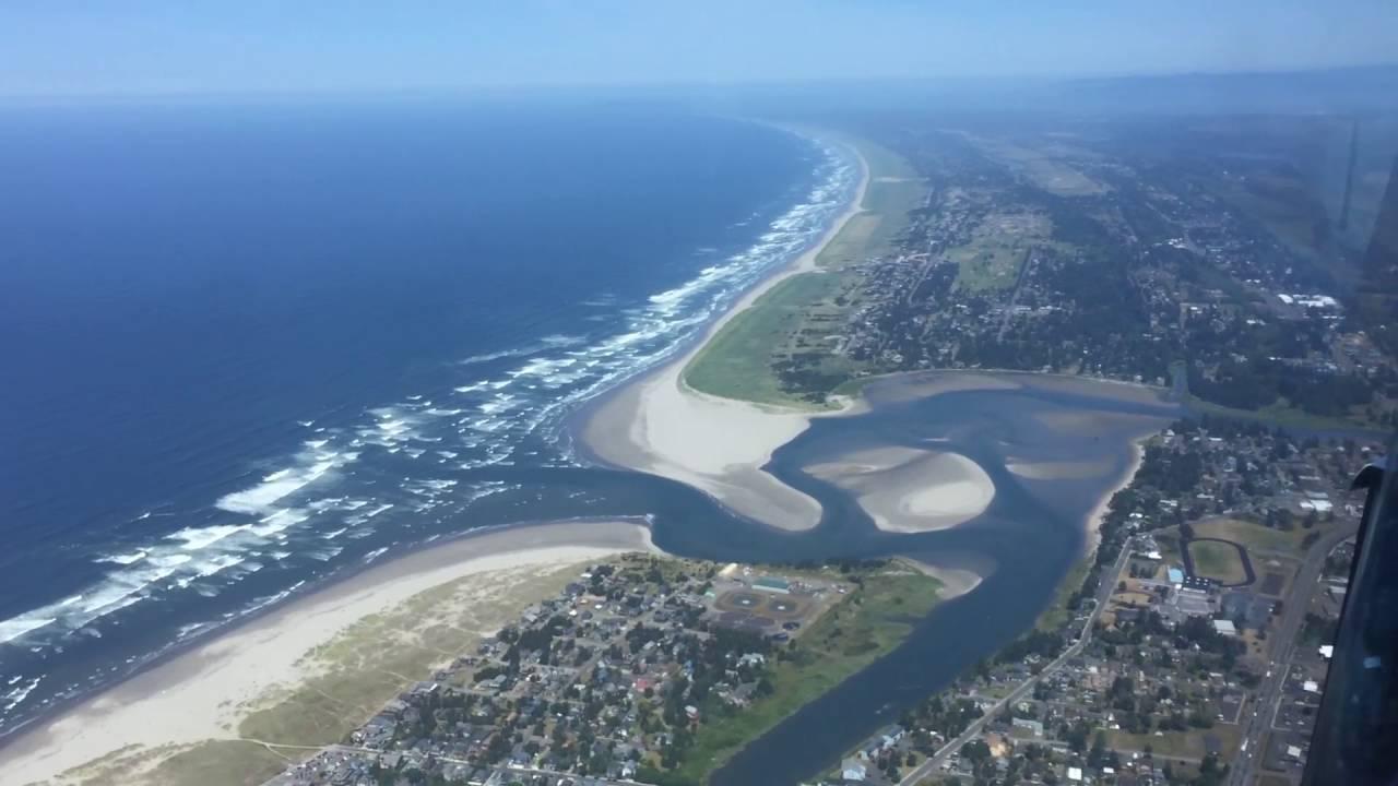 Helicopter Ride Over Seaside Oregon  YouTube