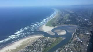 Helicopter Ride over Seaside Oregon