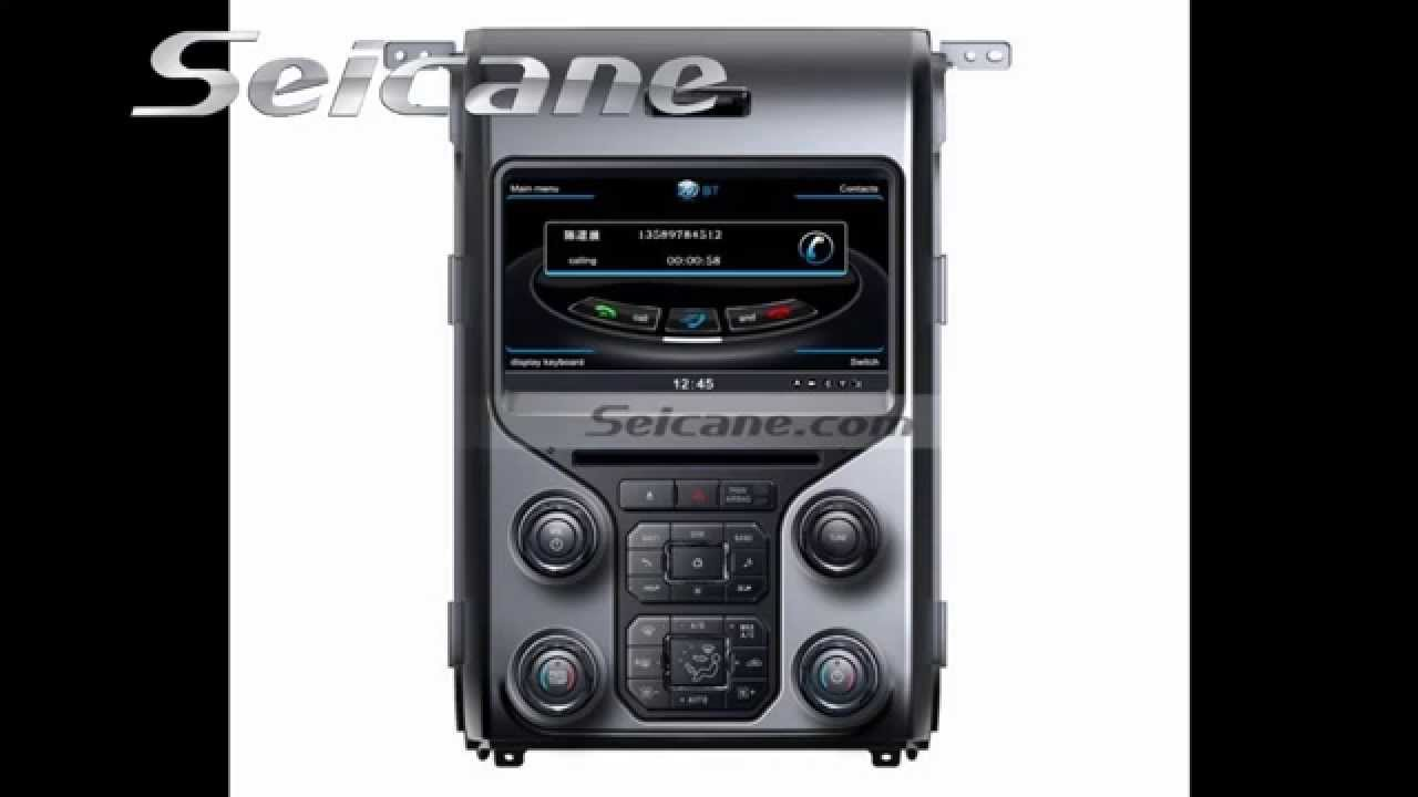 Aftermarket  Ford F In Dash Radio Dvd Gps Audio System With G Wifi Mp Usb Tv Youtube