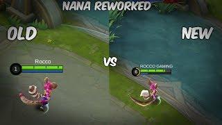 NANA SKILLS COMPARISON   OLD VS NEW  
