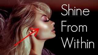 BLUSH HACK! HOW TO MAKE YOUR SKIN SHIMMER FROM WITHIN
