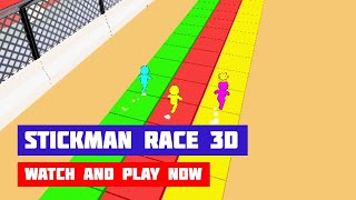 Stickman Race 3D · Game · Gameplay