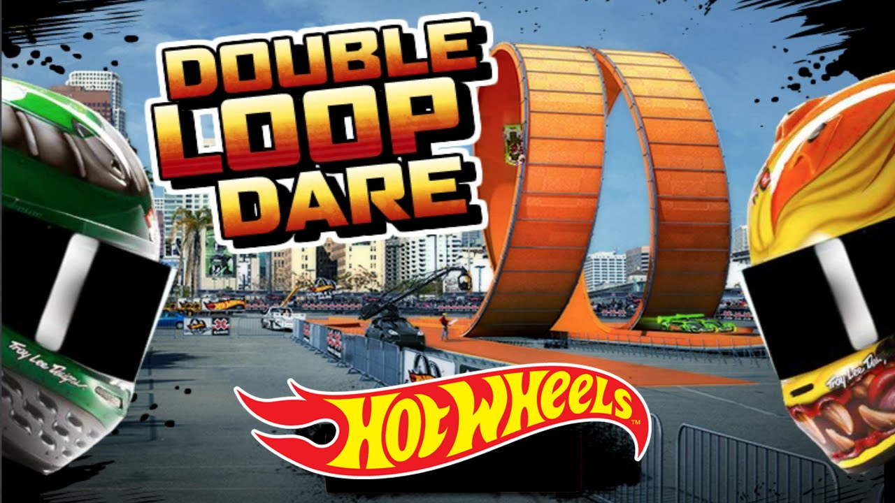 hot wheels double loop dare youtube. Black Bedroom Furniture Sets. Home Design Ideas