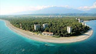 Отдых в Пицунде Абхазия(Обзор Климат в Пицунде влажный средиземноморский субтропический, схожий с климатом Гагры. Лето тёплое..., 2016-06-19T11:39:53.000Z)