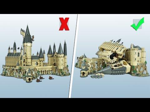 💸 Хогвартс или как проc%#ть 35 кусков ● LEGO 71043 Harry Potter Замок Хогвартс [Обзор]
