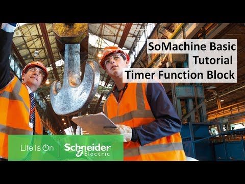 How To Configure The Timer Function Block In SoMachine Basic? | Schneider Electric