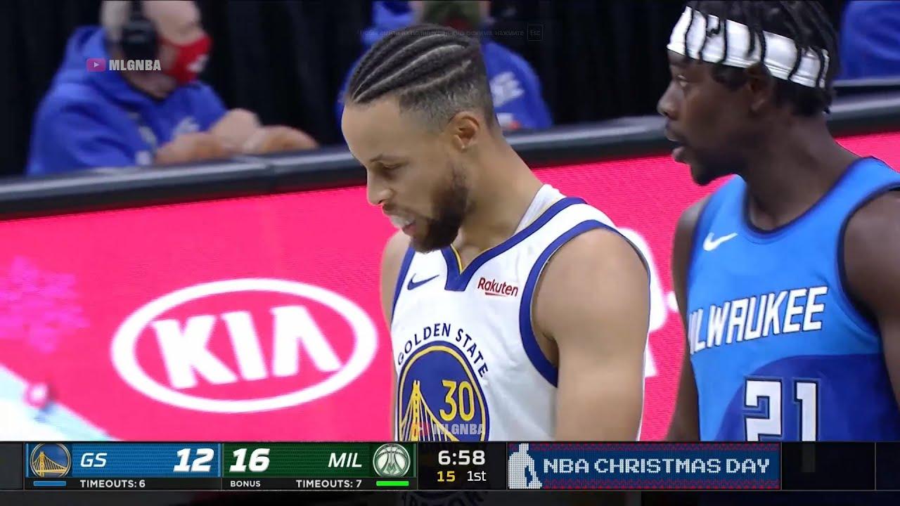 Golden State Warriors vs Milwaukee Bucks Highlights 1st Half   2020-21 NBA  Season - YouTube