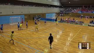6日 ハンドボール女子 国体記念体育館Cコート 玉野光南×大分 2回戦 2