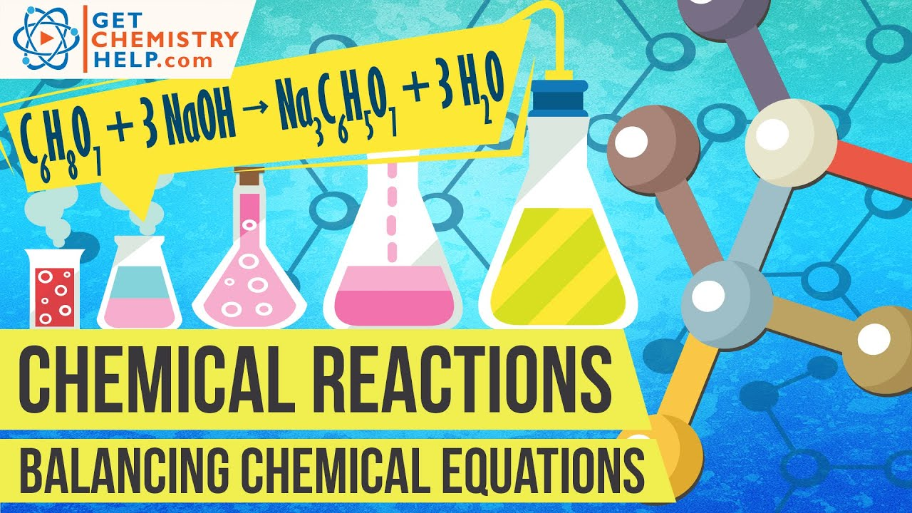 Chemistry Lesson Balancing Chemical Equations