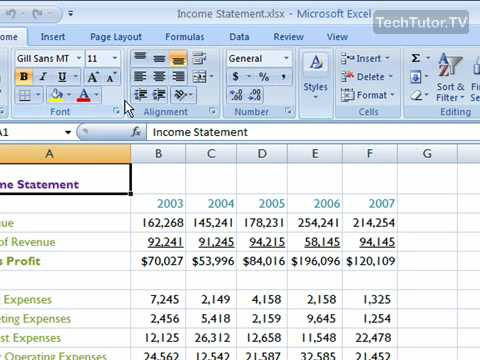 Insert a New Worksheet in Excel 2007 - YouTube