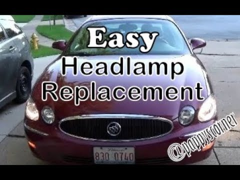 Replace Head Lights 06 Buick Lacrosse