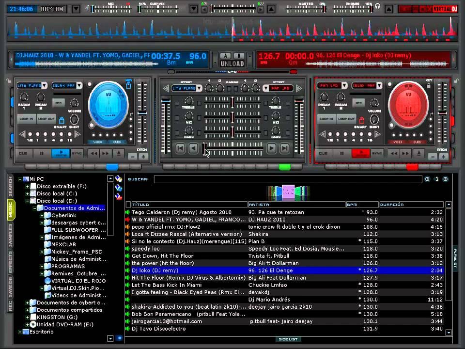Atomix Virtual DJ 8 0 PRO Skins