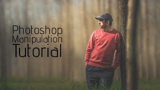 Photoshop Tutorial | Manipulation & Change Background & Blending
