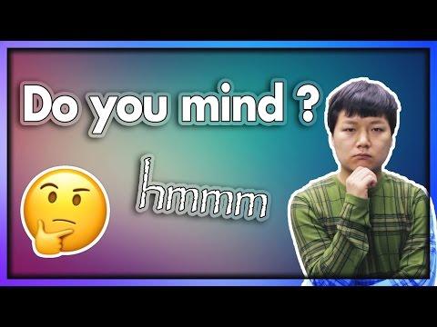 영어에서 제일 헷갈리는 질문 [Do you mind?]