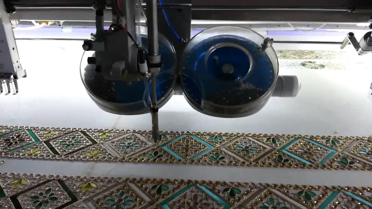 fabric beading machine