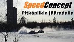 SpeedConcept Pitkäpiikin jääradalla 29.2.2020 - Sine's Car VLOG #43