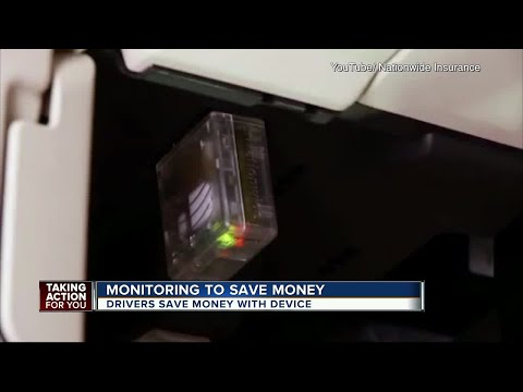 Tracking device saves drivers car insurance money