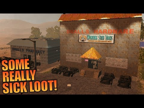 SOME REALLY SICK LOOT! | WotW MOD 7 Days to Die | Let's Play Gameplay Alpha 16 | S02E02