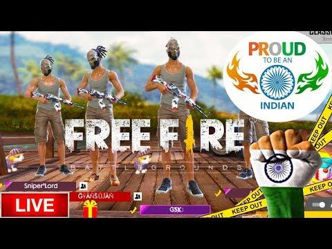 Garena Free Fire Live INDIA RANKED MATCH SQUAD [Hindi]