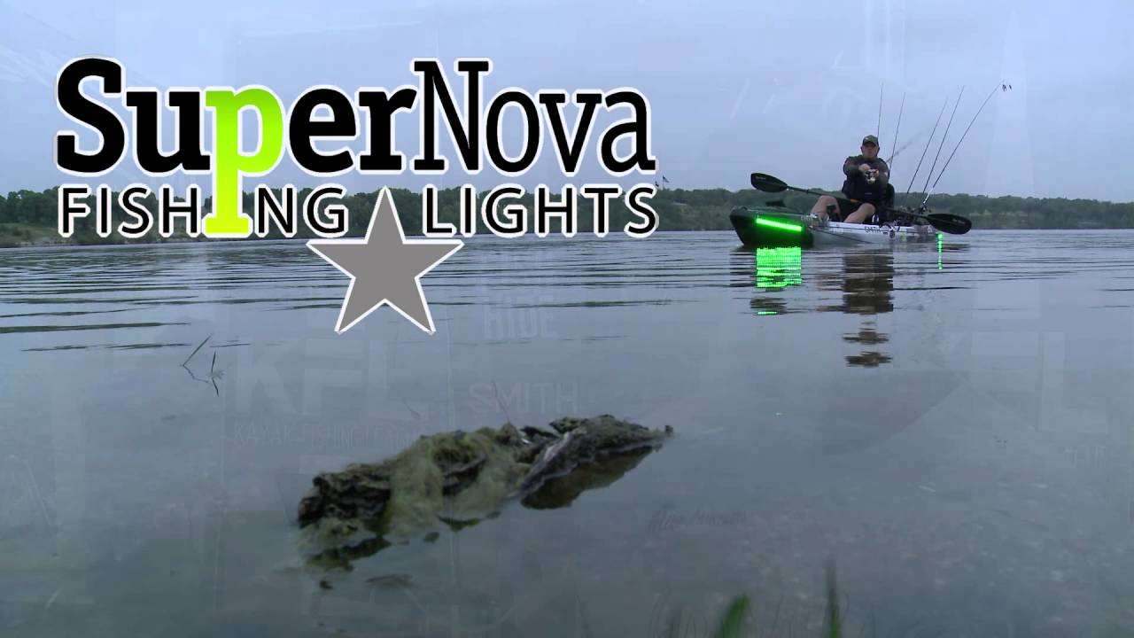 why supernova fishing lights ? - youtube, Reel Combo