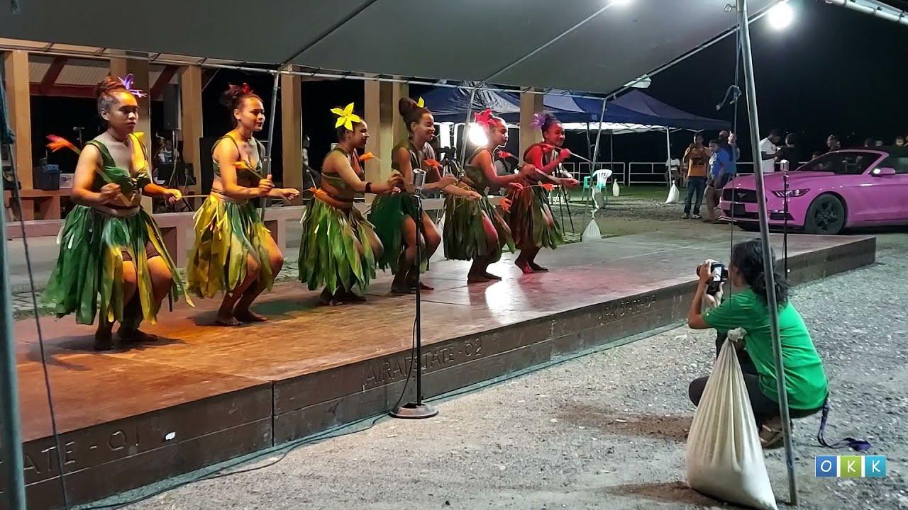 Young Ngardmau Traditional Dancers