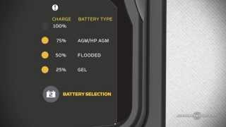precision on board battery chargers on select models