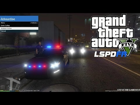 GTA 5 - LSPDFR - EPiSODE 11 - LET'S BE COPS - FIRST PERSON VIEW PATROL (GTA 5 PC POLICE MODS)