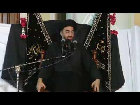09 Majlis 08 Muharram 1439 2017 Maulana Ali Raza Rizvi