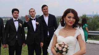 Коротко: со свадьбы Ержана и Айнур