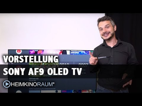 sony af9 oled test vorstellung 65 zoll android tv youtube. Black Bedroom Furniture Sets. Home Design Ideas