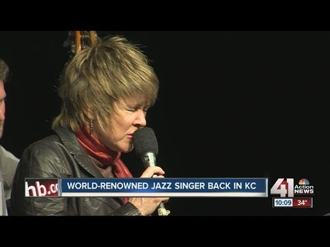 World-renowned jazz singer back in KC