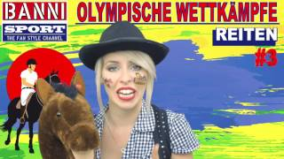 Facebook Trailer REITEN Horse Riding De Equitación - Olympic Sport Fan Style & Make-up