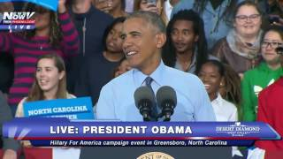 PROTESTERS CRASH OBAMA SPEECH: President Laughs It Off - FNN