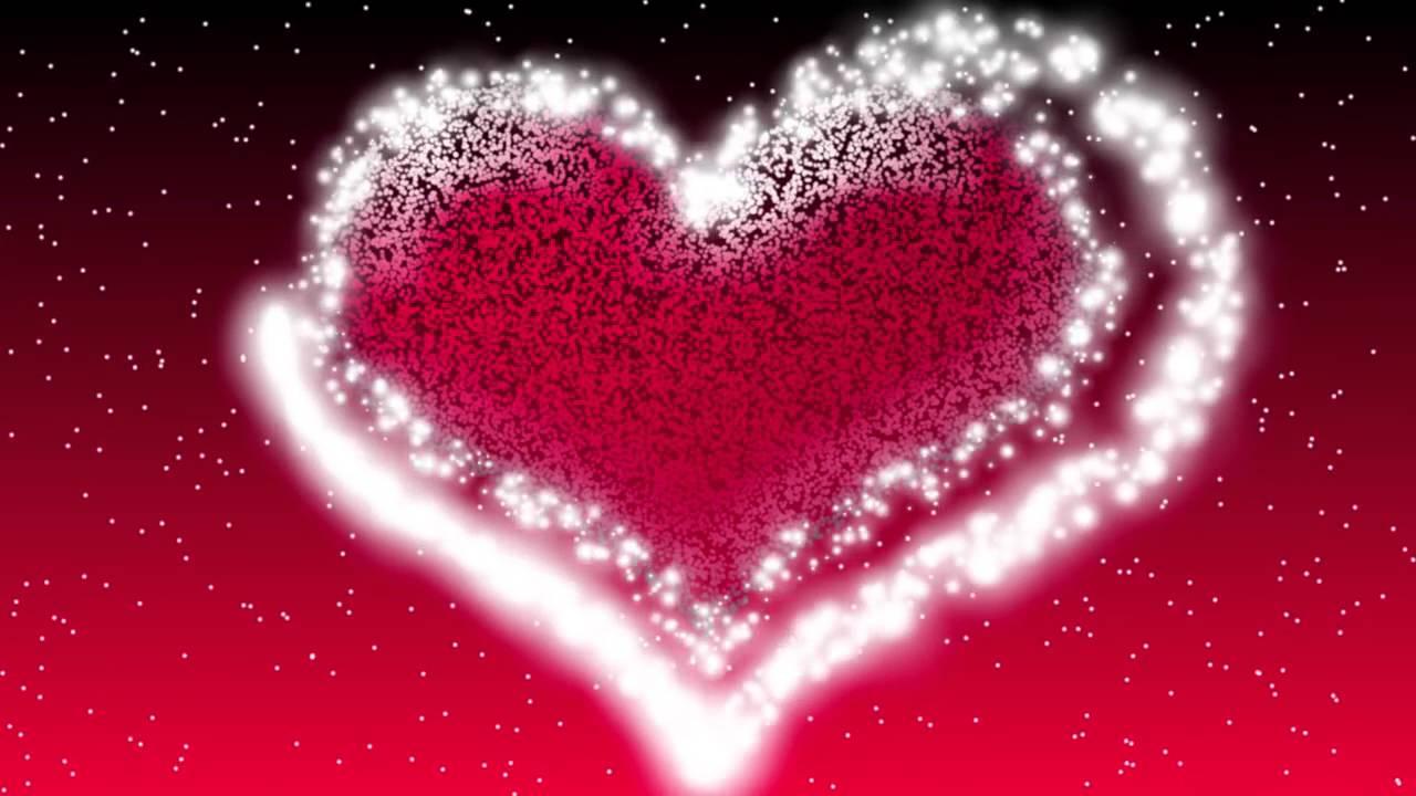 Открытки сердца которые блестят