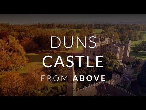 Duns Castle From Above
