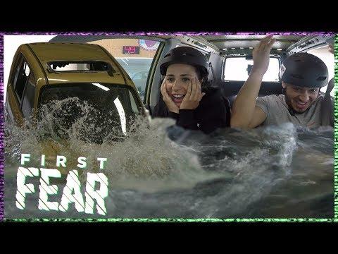 OUASSIMA en YOUSTOUB VERDRINKEN BIJNA in AUTO | FIRST FEAR