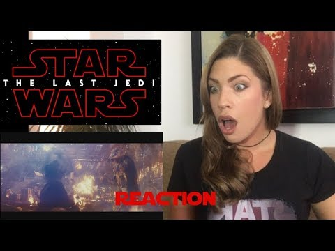 Star Wars: The Last Jedi Trailer (Official) - REACTION!!