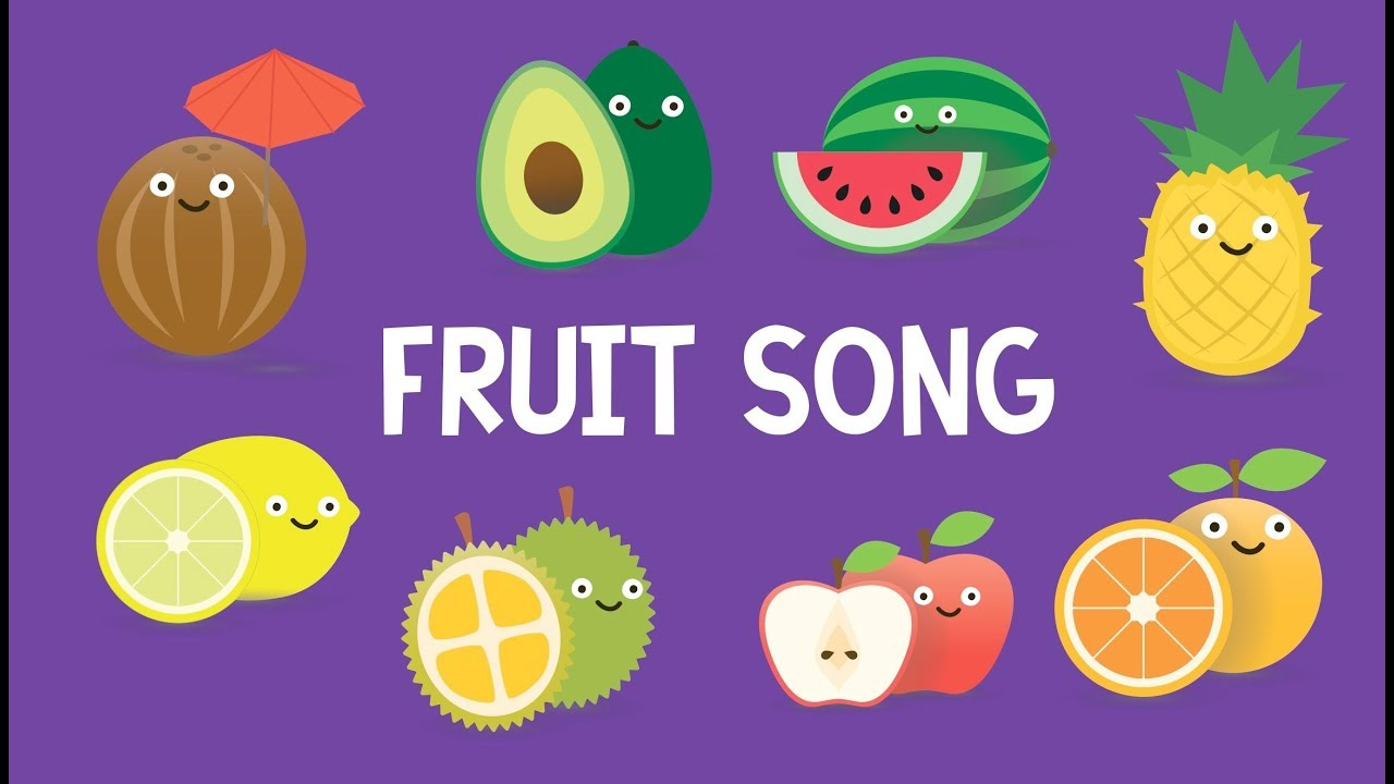 The Fruit Song Fruit Song Fun Educational Learning Flash