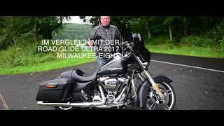 Harley-Davidson Street Glide 2017 / 2018 #HarleyDavidson #Harleysite #Deutsch #StreetGlide