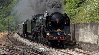 Locomotive à vapeur 241P17 - Franche-Comté Express 2015