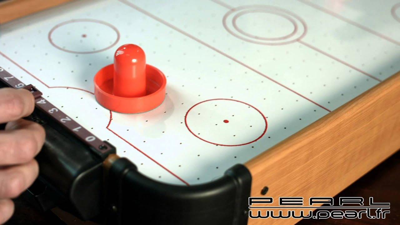 Nc mini table de air hockey youtube