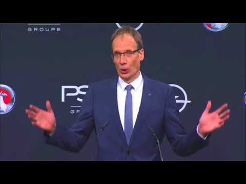 PACE! - Vauxhall Opel PSA press conference 09 11 17