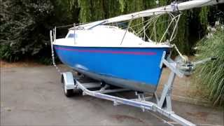 Gem 18ft Micro Mini Toner Sailing Boat Yacht SOLD UK