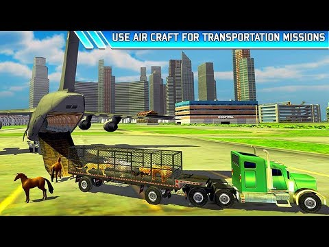 Zoo Animal Transport Truck 3D Airplane Transporter | Best Android Gameplay HD