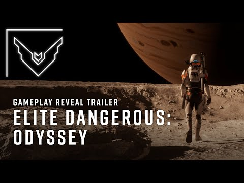Elite Dangerous: Odyssey Gameplay Reveal Trailer
