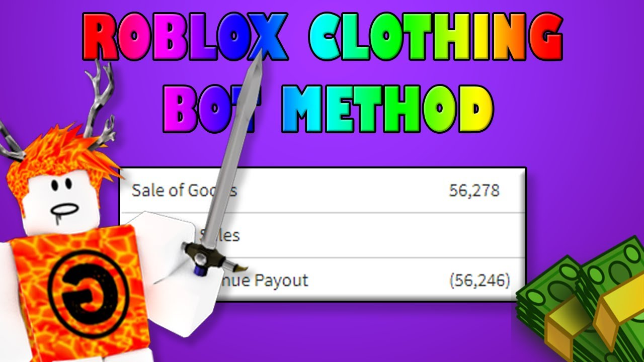 Roblox 2018 Free Clothing Bot Download Youtube